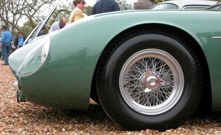 Aston Martin Zagato DB4 GT  left front  view