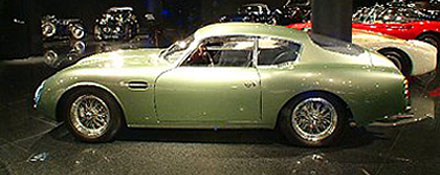 DB 4GT Zagato left side view
