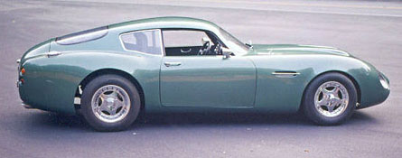 DB 4GT Zagato clone right side view