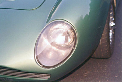 Zagato DP 209 configuration clone head light detail