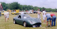 Our Aston Martin DB4 GT clone is a crowd pleaser wherevev we take it!