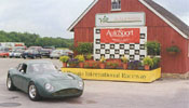 Our Aston Martin clone at the vintage races VIR Gold Cup 2005