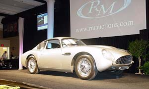 An original Aston Martin Zagato sold at auction